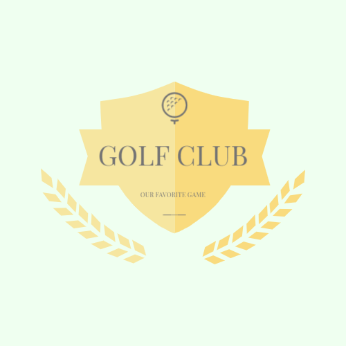 Golf Ball & Shield logo