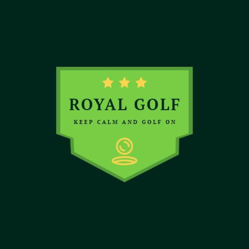 Royal golf center logo