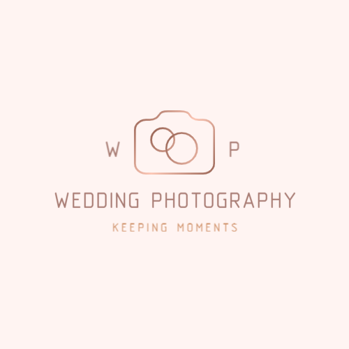 Wedding photograph or agency logo