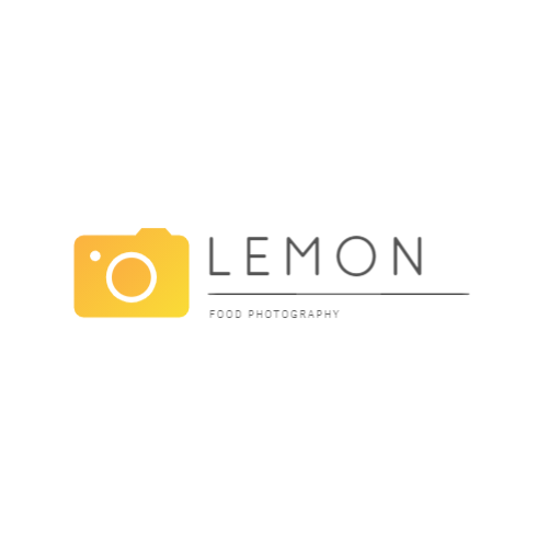 Food photography company logo