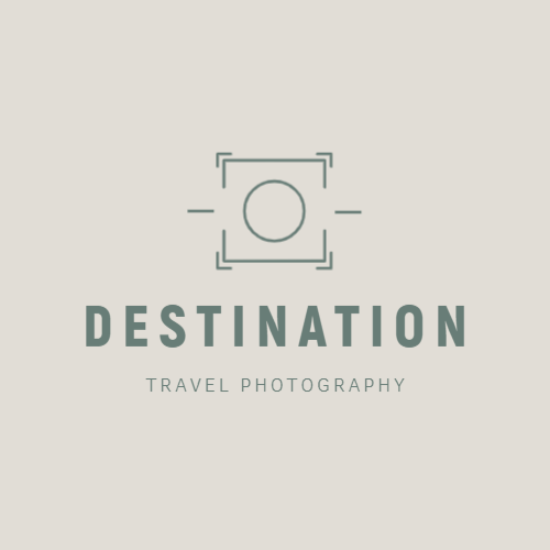 Travel photography company logo