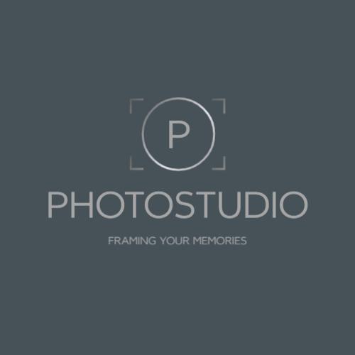 круг и буква p логотип