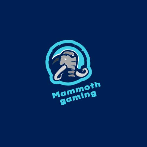 синий мамонт логотип