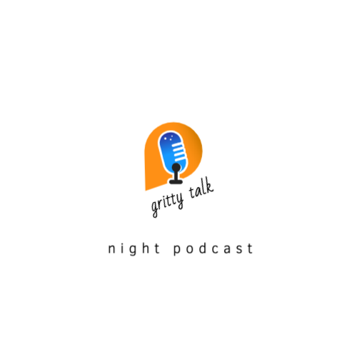 Gritty Talk, Night Podcast Logo