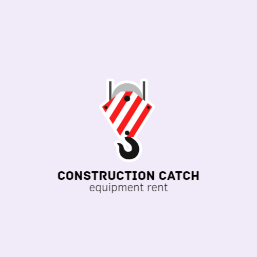 Logo construction equipment rental company