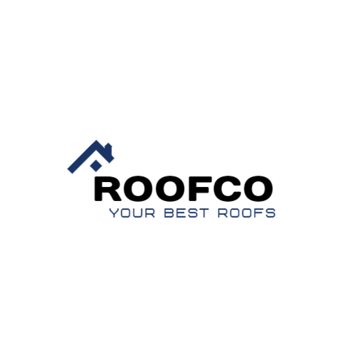 Schematic drawing of a roof logo