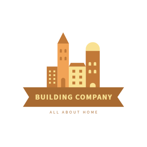 Construction and repair company logo