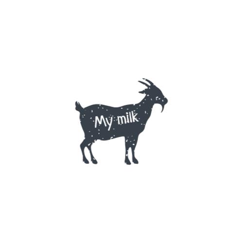 силуэт козы дизайн логотипа