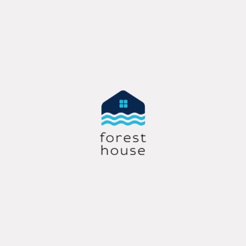 Blue House Waves logo