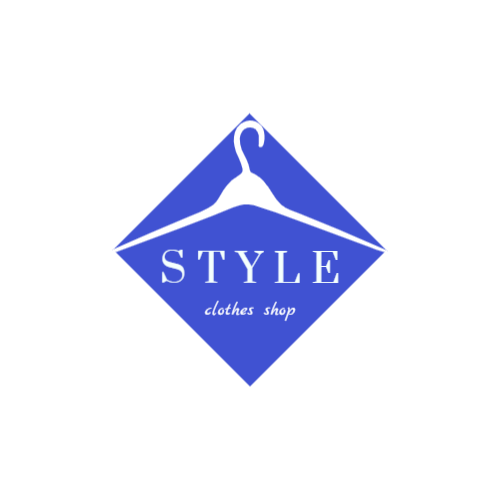 Stylish clothing store logo
