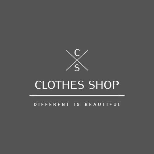 Clothing store logo with the letters C and S