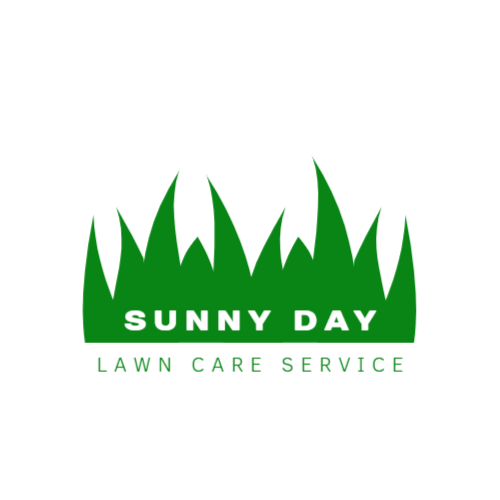 Lawn care company logo template
