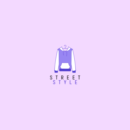 Purple Sweatshirt logo design
