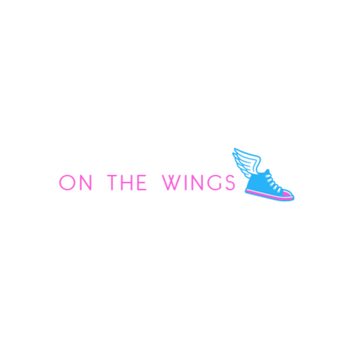 Boot with Wings logo template