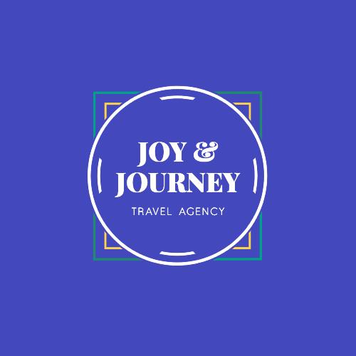 Joy & Journey, Travel Agency Logo