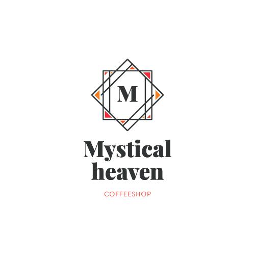 Mystical Heaven, Coffeeshop Logo