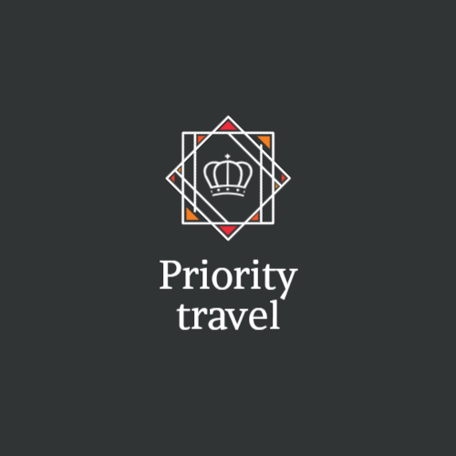 Logo for travel agency with crown
