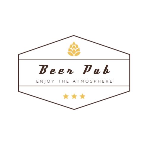 Beer Pub Modern logo