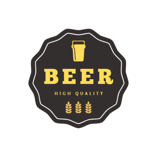 High quality beer maker logo