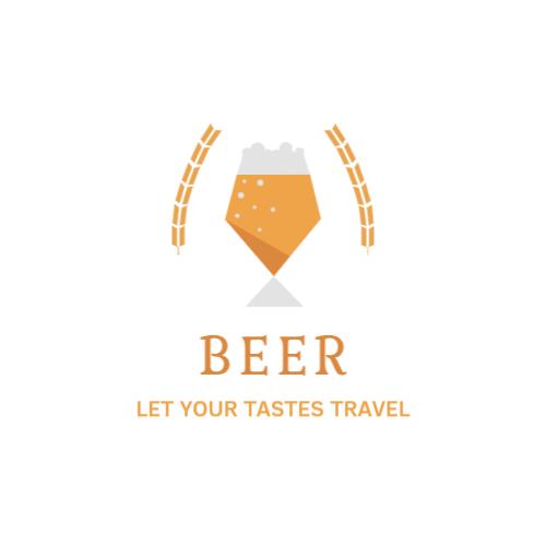 Beer shop or bar logo