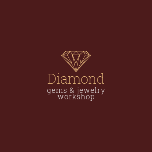 Graphic diamond logo