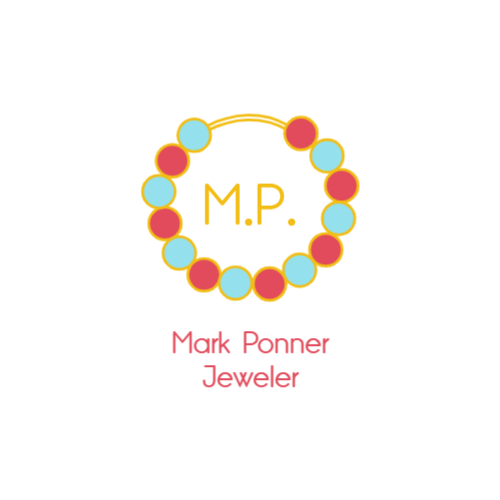 Colored Necklace Letters logo