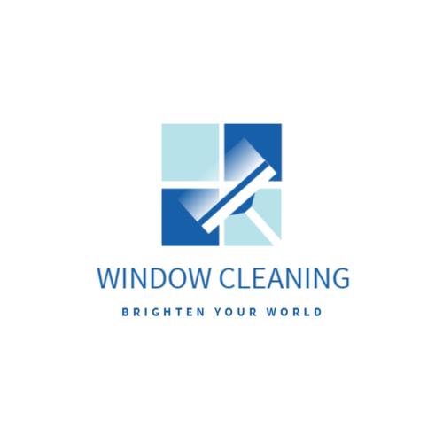 Window cleaning company logo
