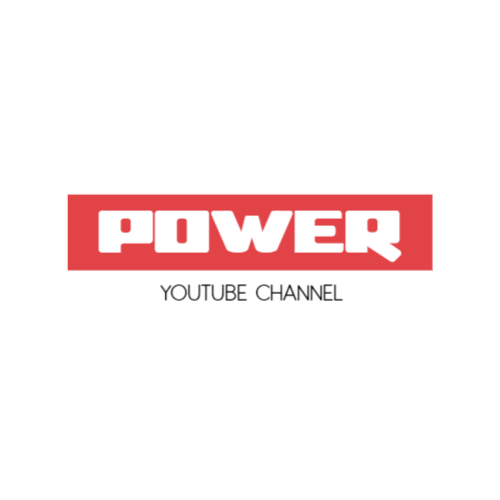 YouTube channel logo template