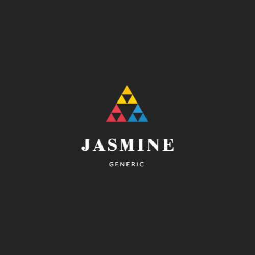 Logo design with triangles for brand