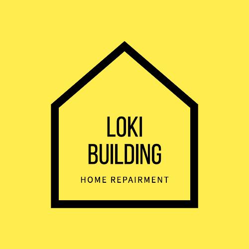 Loki Building, Home Repairment Logo