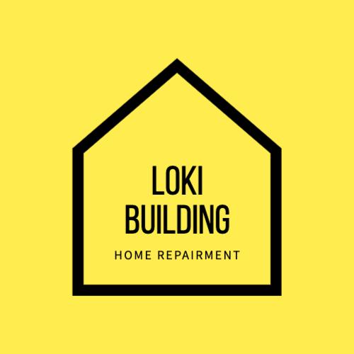 Loki Building, Home Repairment Лого
