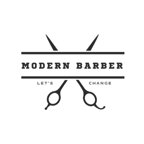 Hairdresser's scissors logo