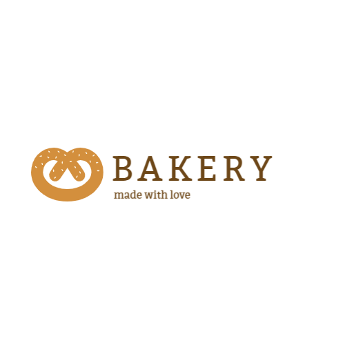 Pastry shop or bakery logo design