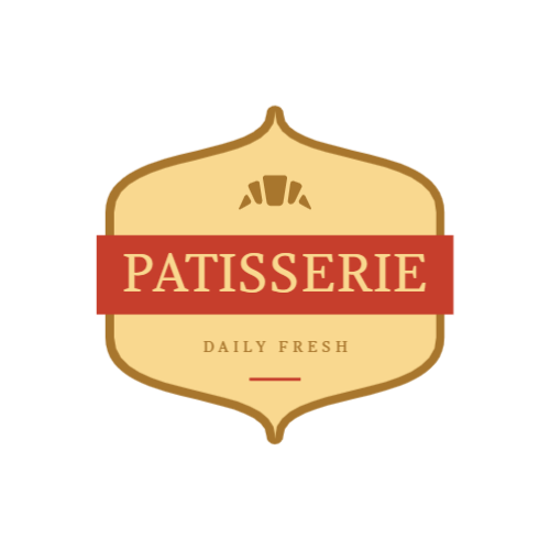 Pastry shop free logo template