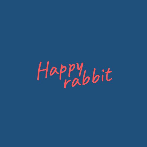 Happy, Rabbit Logo