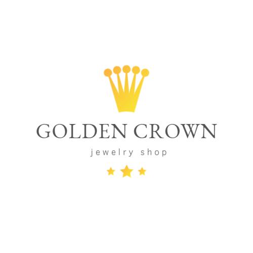 Golden Crown Drawing logo