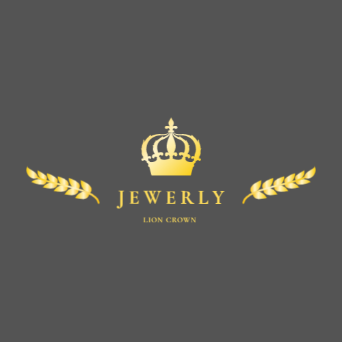 Luxury jewelry salon logo