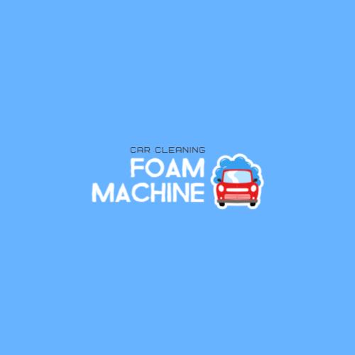 машина пена синий логотип