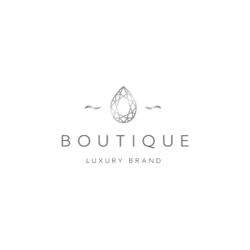 Brand logo for luxury items