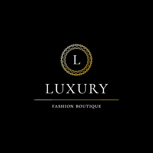 Luxury boutique logo with letter L