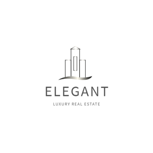 Luxury real estate agency logo
