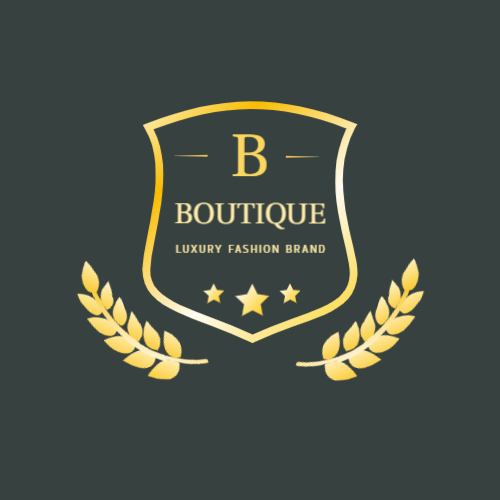 Luxury clothing logo with B letter