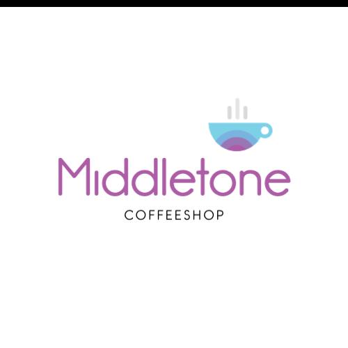 Middletone, Coffeeshop Logo