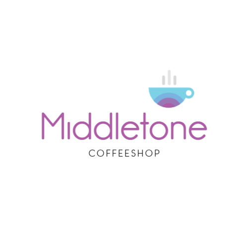 Gradient Coffee Cup logo