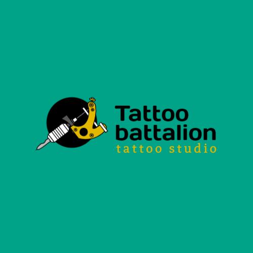 Tattoo Machine Turquoise logo