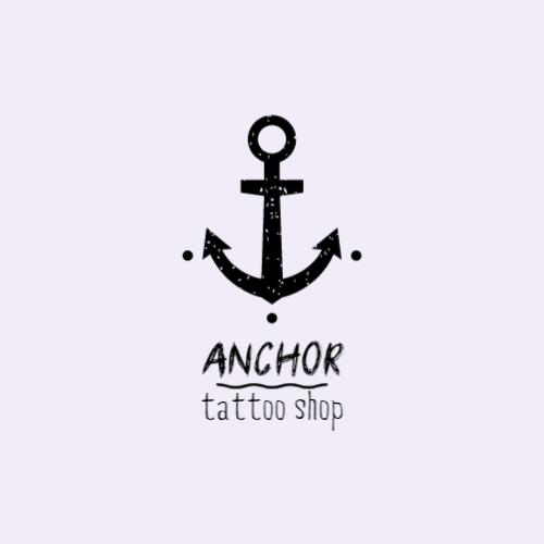 Black Anchor logo