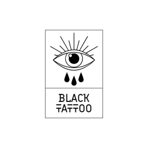 Black & White Eye logo