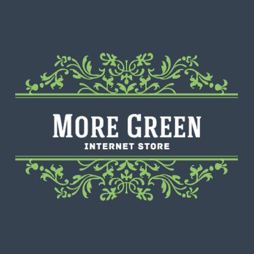 More Green, Internet Store Logo