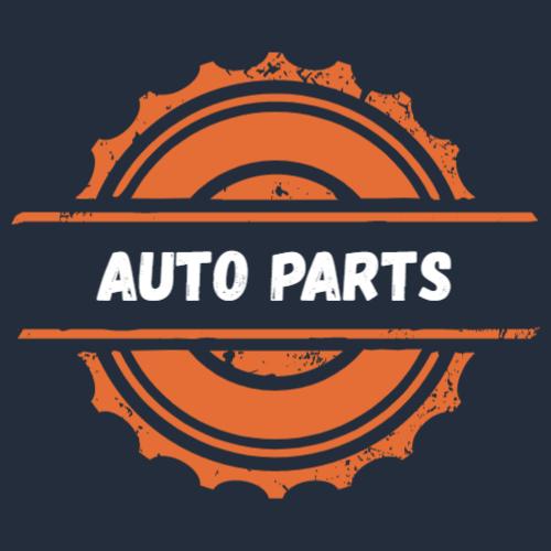 Auto parts store logo template
