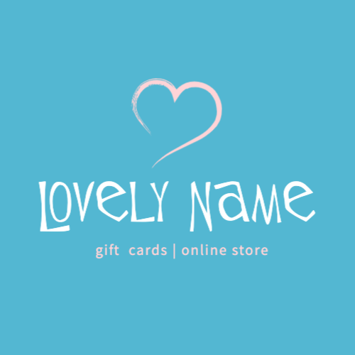 Lovely Name, Gift  Cards | Online Store Лого